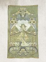 Amazing Art Nouveau wall textile