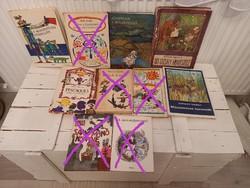 Retro, régi mesekönyvek