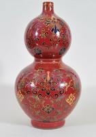 Antik kínai kettős tök váza, 19. század