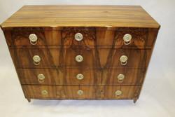 Biedermeier chest of 4 drawers