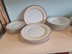 18 db os tányér sor