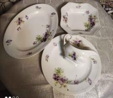 Fabulous violet, beaded austria porcelains