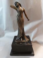 Art Nouveau bronze female figure