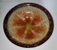 Wmf ikora glass decorative bowl in art deco style