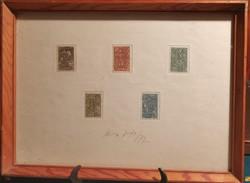 János Kass etching 45x33,
