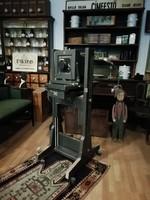 Műtermi fotó gép, NDK gyártmányú a 70-80-s évekből