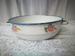 Old enamel bowl