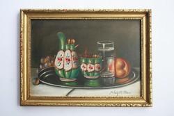 Molnár z. John's painting