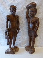 Old African statue / 64 cm.