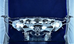 Breathtaking antique silver centerpiece, Milan, ca. 1930 !!!