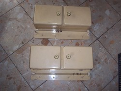 Rare !! Wall cabinets in pairs