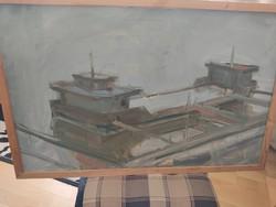 Martin Barabás painting