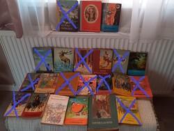 Retro, régi ifjúsági regények,könyvek egységáron_delfinkönyvek