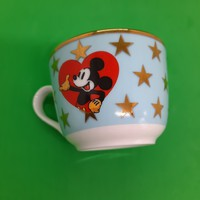 Porcelain cup with Disney figurine