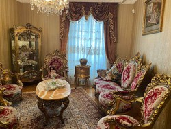 Special French baroque - gilded salon set