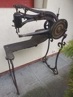 Claes & Flentje - Patent Elastique 10374 - 10406 sewing machine. Antik cipész, suszter, bőr varrógép