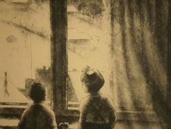 Chorus Joseph (1927 - 2010): at the window