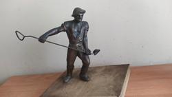 Classic socreal bronze sculpture