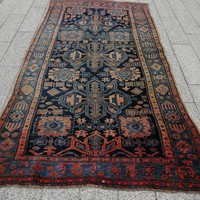 Antique Iranian malayer hand-knotted rug. Negotiable !! 245X133cm
