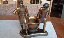 Zsolnay eozin (bányászok)