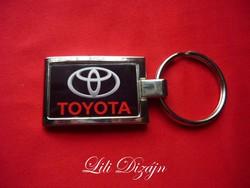 Toyota stylish metal keychain
