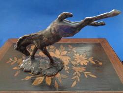 Craftsman bronze horse sculpture