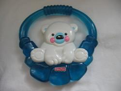 Fischer price rattle chewing teddy bear