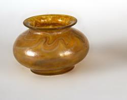 Loetz yellow vase
