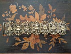 Bracelet made with filigree technique circa 1900