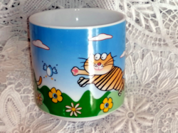 Michael ficher kitten fairy mug with cup for kids