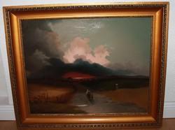 Ignaz Raffalt (1800-1857) olajfestmény