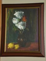 László Bornemisza (1916-1995): white flower