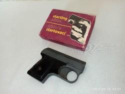 Rare slavia with alarm pistol box