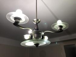 Art deco chandelier, renovated, flawless