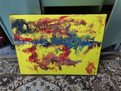 Abstract painting.