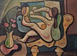 Régi festmeny - osztrák vagy német festő