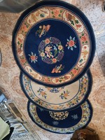 Hand-knotted Chinese Beijing rugs 5pcs.