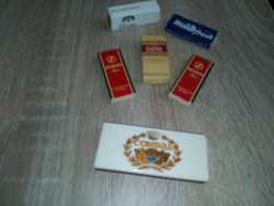 6 Boxes of matches