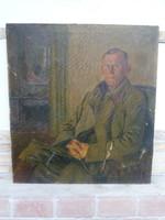 I.világháborús katona portré ( nagy méret )
