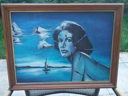 Cene gál István elgondolkodtató festménye eladó