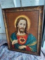 Lemezre Festett Szentkép