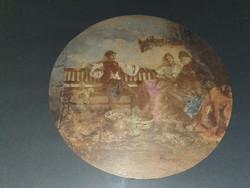 Hagyatékból szignós festmény