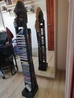Afrikai szobor cd tartó