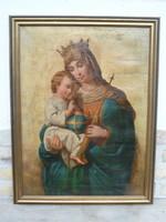 Koronás Madonna, XIX.század vége