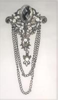 Bross, ezüst színű / ötvös által készített
