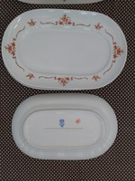 Alföldi csipkebogyós ovális tányér