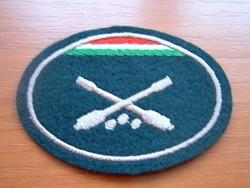 Mh beret cap badge sewing gunner # + zs