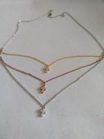 Beautiful flashy silver necklace