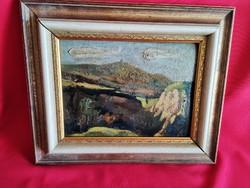 Antik festmény! 1923