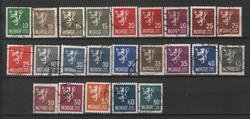 Norway 0339 23 pcs. Various 12.80 euros